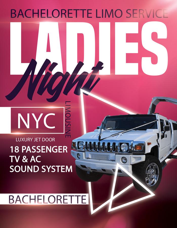 Bachelorette jet door limousine