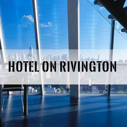 Hotel On Rivington Bachelor