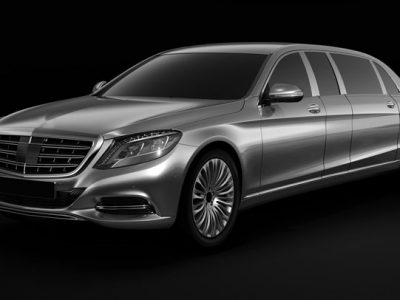 Mercedes New S Class Limo