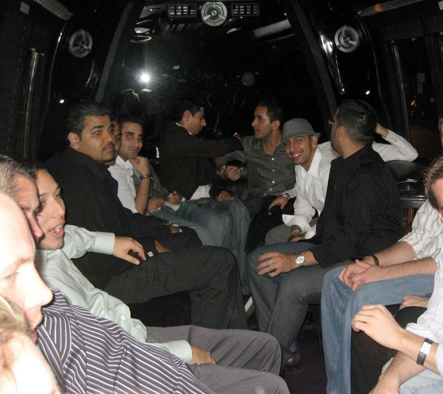 bachelor party bus rental
