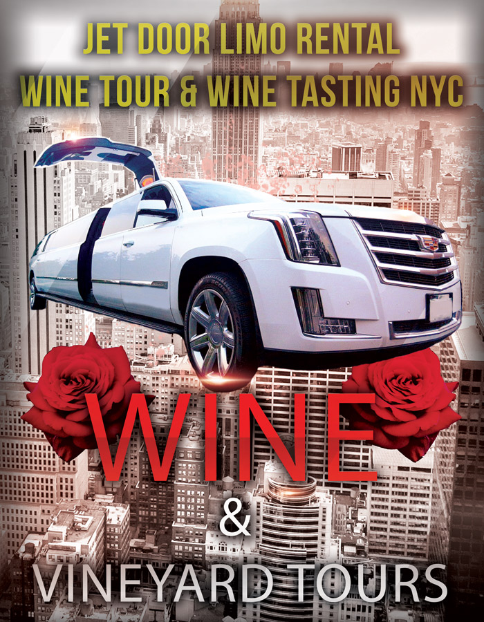 Wine Tour in a jet Dooor LImo