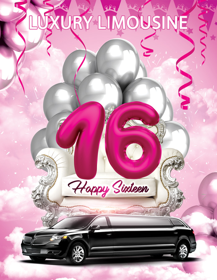 Sweet 16 Luxury Limousine